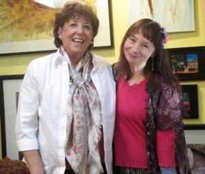 Cristina Ruggiero and Kathabela Wilson (click on photos to enlarge).