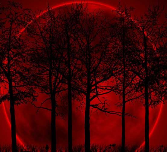 red moon blue sun poem - photo #14