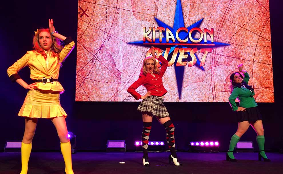 Kitacon's Talent Show group winner, this lip-synch act rocked the house