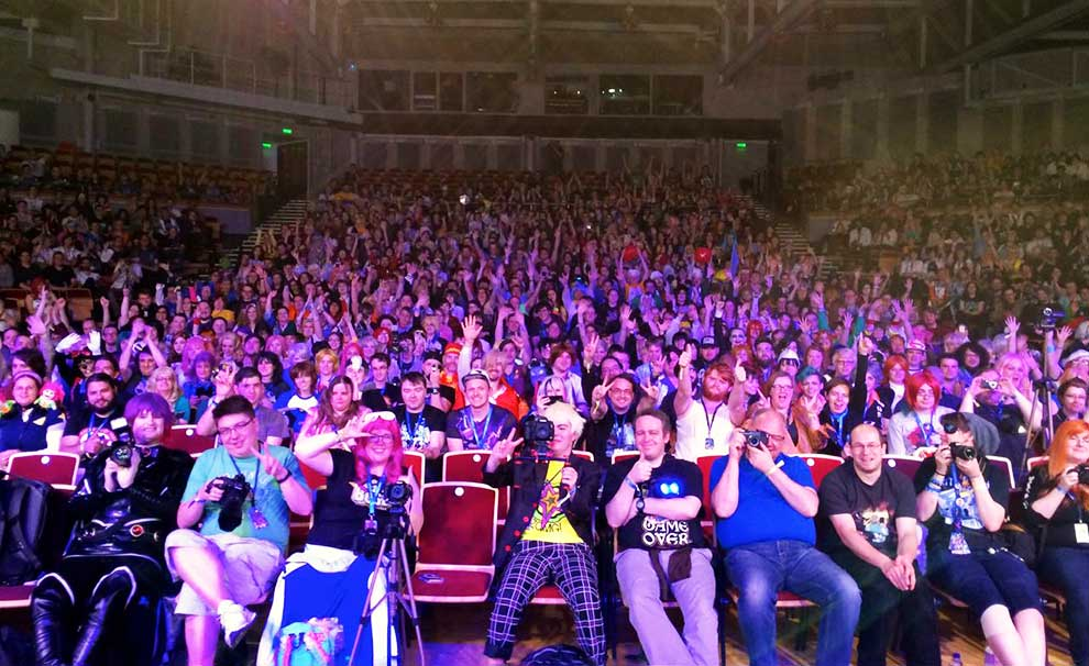 Kitacon audience at Opening Ceremonies.