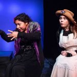 "Kenia Romero and Claire Fazzolari in ""Under Milk Wood"" (Photo - Darrett Sanders)."
