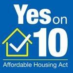 Vote Yes on 10 (Photo - voteyesonprop10).